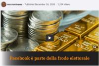 Roberto Mazzoni – 16-12-2020 Facebook coinvolto nella frode elettorale