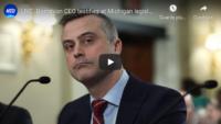 Il CEO di Dominion testimonia all'udienza della legislatura del Michigan