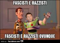 I sinistri di tutto il mondo vedono fascisti e razzisti ovunque ! Secondo loro fascisti sono addirittura cani e porci.