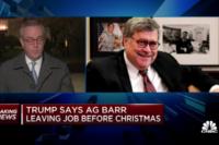 Trump decapita un altra serpe & traditore-vigliacco e corrotto: Attorney General William Barr cacciato con un twit