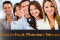 Roberto Mazzoni – 11-1-2021 Approfondimenti su Signal, WhatsApp e Telegram