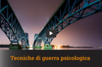 Roberto Mazzoni – Tecniche di guerra psicologica
